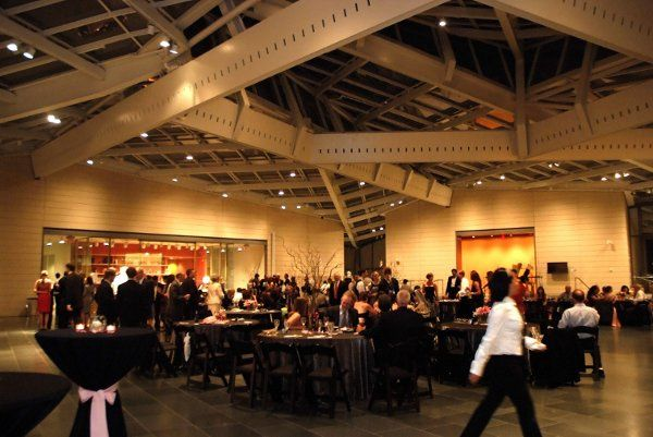 Wedding reception at the Nasher Museum of Art.