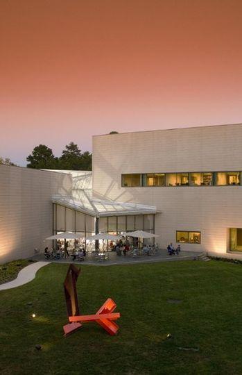 Nasher Museum of Art, exterior.