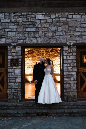 Cedar Forest Lodge Wedding and Reception. Photo: Chad Erickson Photography