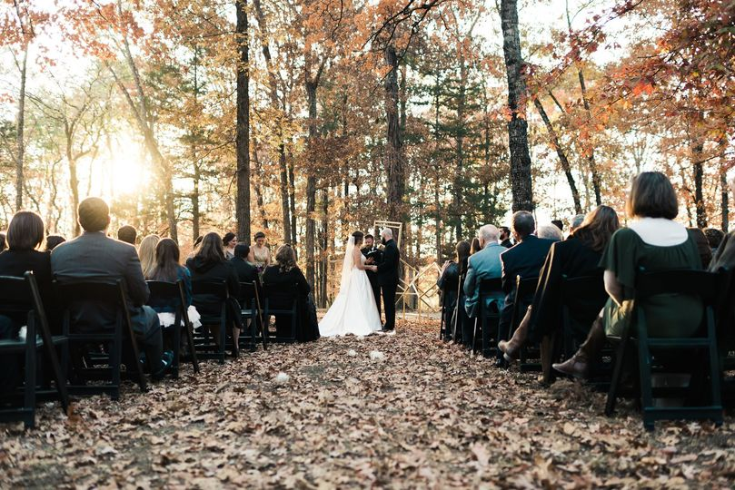 Cedar Forest Lodge Wedding and Reception.Photo: Chad Erickson Photography
