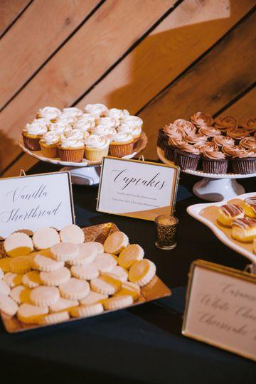 Sweet treats dessert buffet