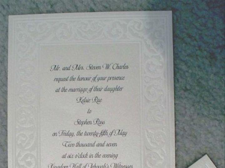 Tmx 1210945454968 Rossinvite Reston wedding invitation