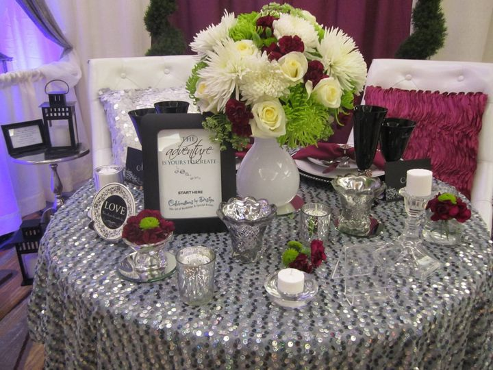 Sweetheart's table