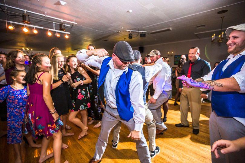 Groomsman Dancing