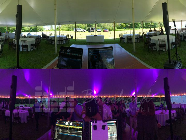 Tmx 7 20 19 Tent Before After Watermarked Web Sized 51 792625 1566356467 Saco, ME wedding dj
