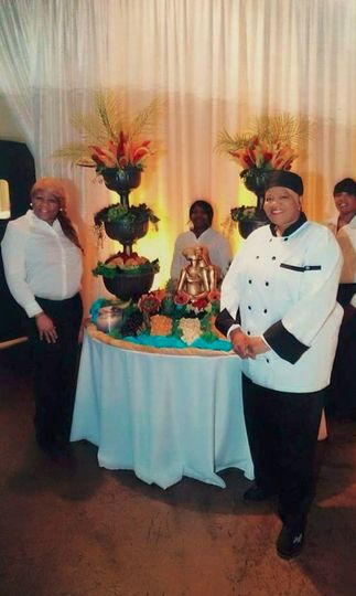 Chef and the fruits