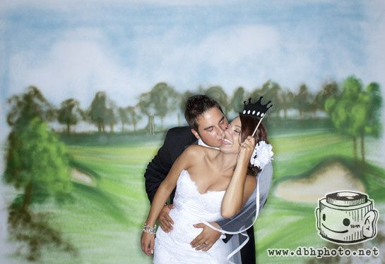 Makray Memorial Golf Club  Golf themed photo booth. http://dbhphoto.net/gallery.php?g=168
