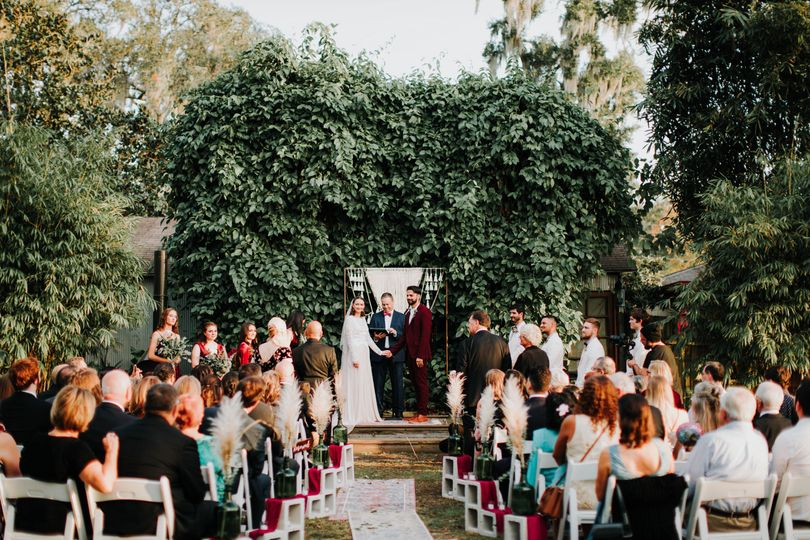 Beautiful Ceremony at The Acre