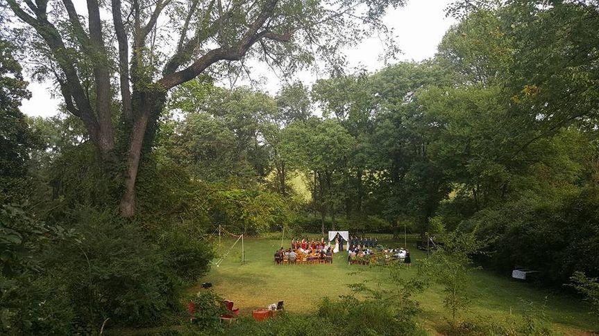 A garden celebration