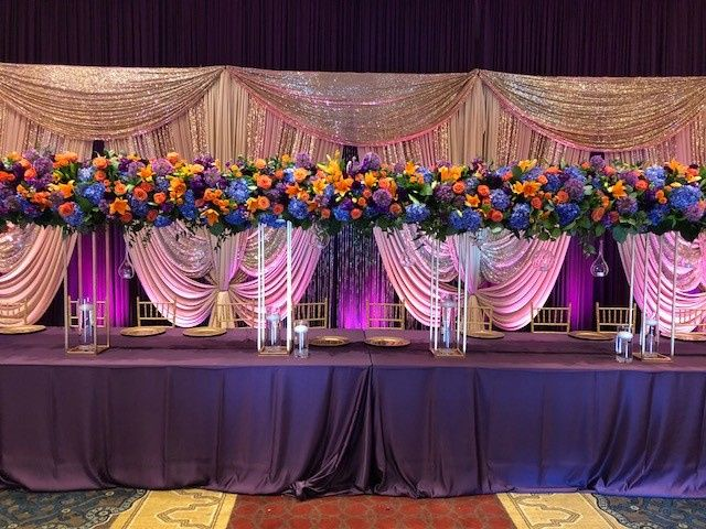 Now this was a head table