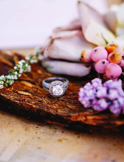 Ring amidst the fruit