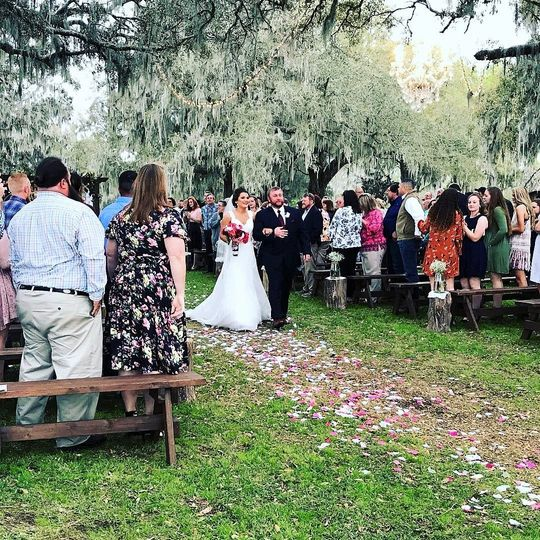 Ceremony & reception support