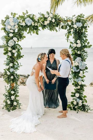 Vows can be fun - a good laugh