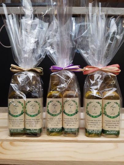 Olive oil packages