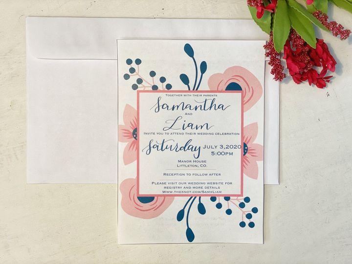Tmx 1c1432ab Ea07 4dc7 B886 D9181d866d36 51 1989625 160088782218387 Golden, CO wedding invitation