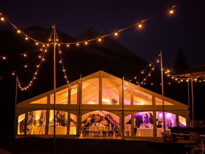 Tmx 40x75 Exterior Night 3 51 1920725 159172433884759 Crested Butte, CO wedding rental