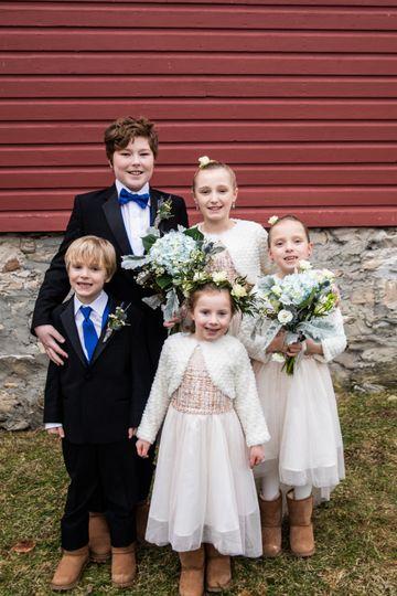 Levity Mountain Wedding Kids