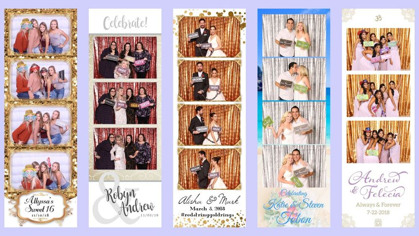 2x6 Photo Strip Examples
