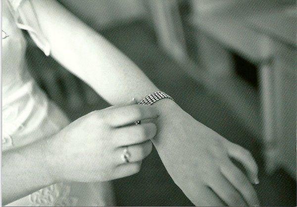 Amanda's vintage bracelet from KD Bridal