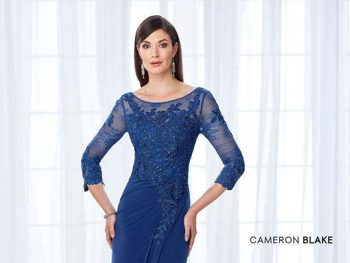 Tmx 1511886335496 Long Sleeve Evening Wear Dress Cameron Blake Mon C Clearwater, FL wedding dress
