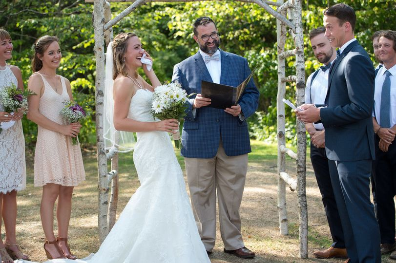 rev henry schoenfield wedding officiant relationship