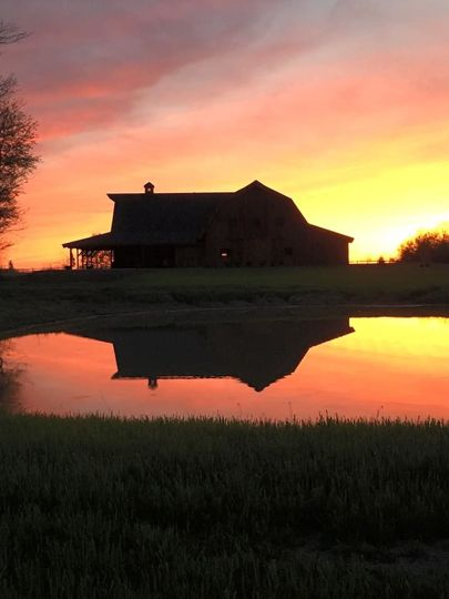 At the Bloomfield Barn, we specialize in gorgeous sunsets. The secluded setting, while easy to...