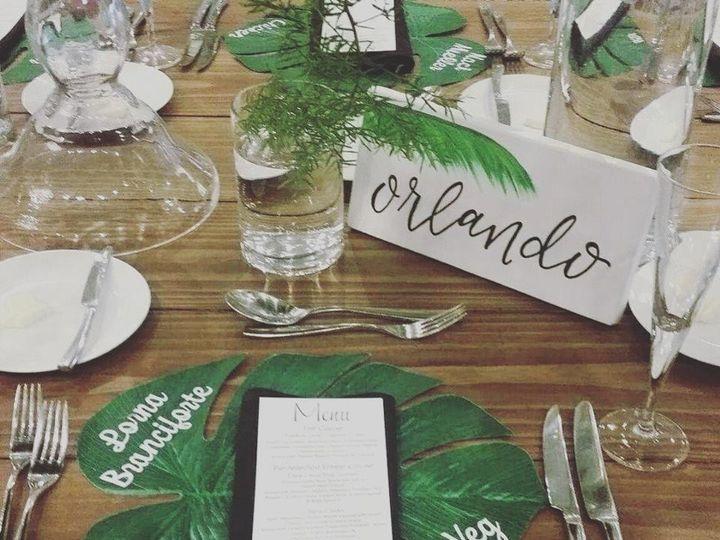 Tmx 1496938490406 Farm Tables Fe 8ft Orlando, Florida wedding rental