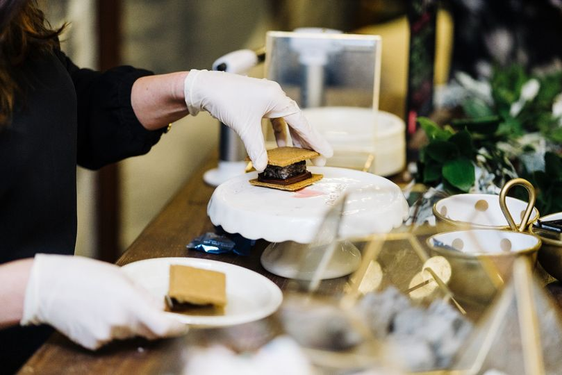 Full service s'mores bar