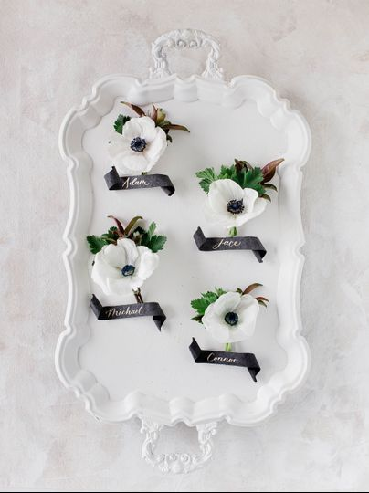 Scroll Placecards