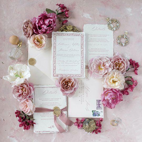 Mauve Wedding Suite