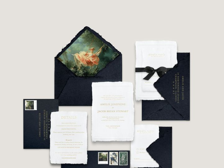 Tmx Vail Mockup 51 1943725 160999326739059 Park Ridge, IL wedding invitation