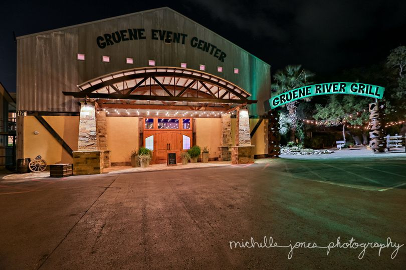 Exterior view of Gruene Event Center