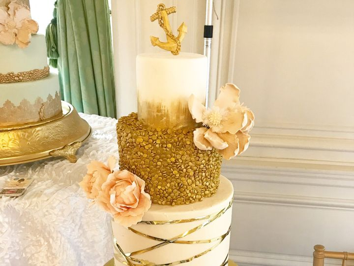 Tmx 1519144677 3bc2cfefad5145c4 1519144674 F6a65c86e3a86ca8 1519144660726 3 IMG 1716 Westport, Rhode Island wedding cake