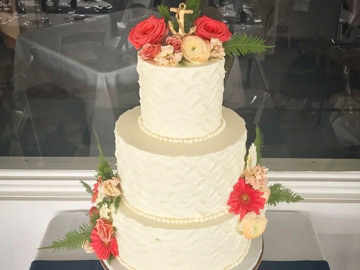 Tmx 1528908070 8c16423f6883a86b 1528908068 9083865137800b19 1528908067076 1 IMG 2840 Westport, Rhode Island wedding cake