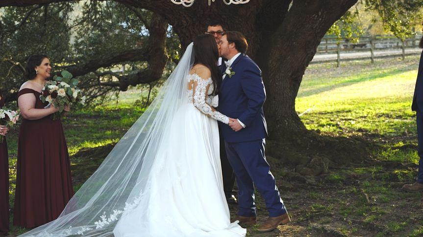 A married kiss - Justin Dixon Films