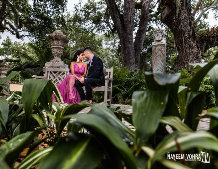 Engagement shoot in Miami