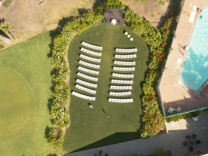 Tmx Drone Shot On Pool 51 1046725 157677701678407 Riverside, CA wedding videography