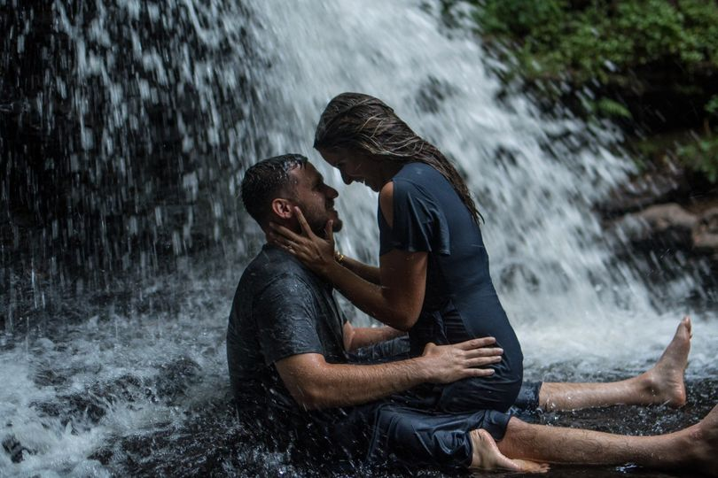 Waterfall Engagement Session
