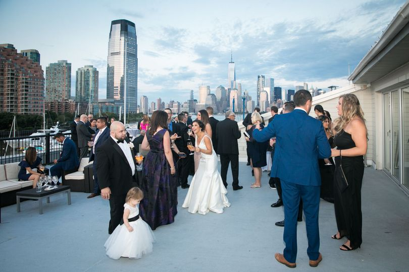 Rooftop reception