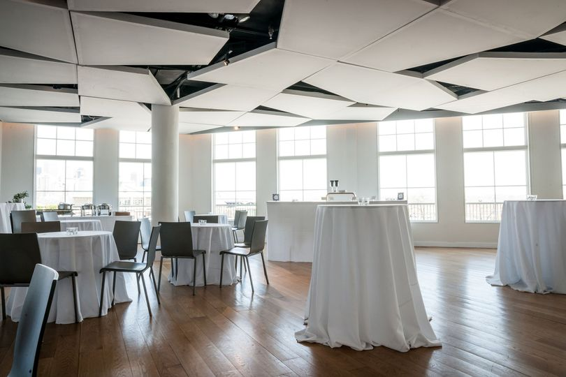 Reception hall and cocktail area