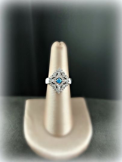"Timeless ""Something Blue"" Ring"