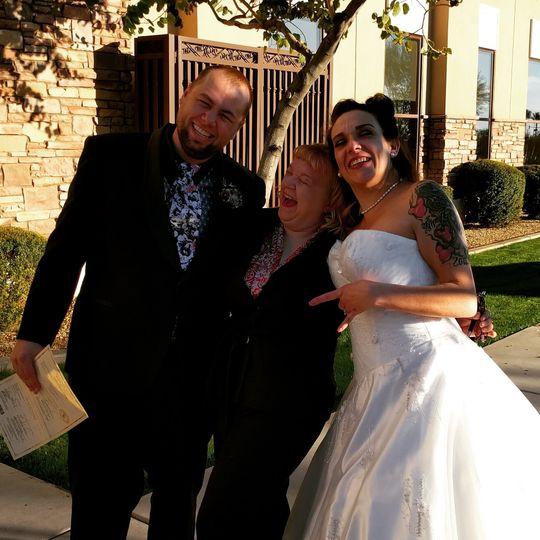 A modern Undead themed wedding