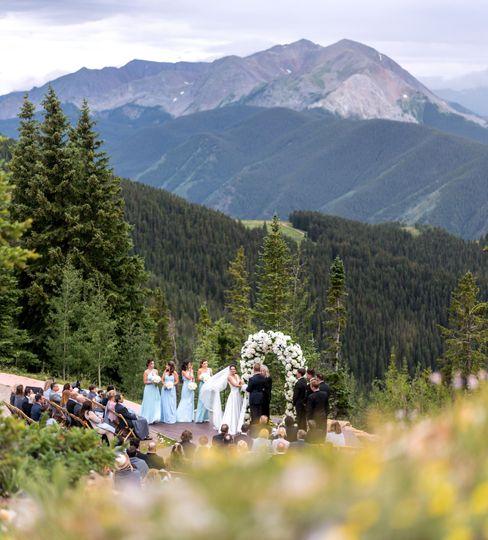 Aspen Mountain Wedding