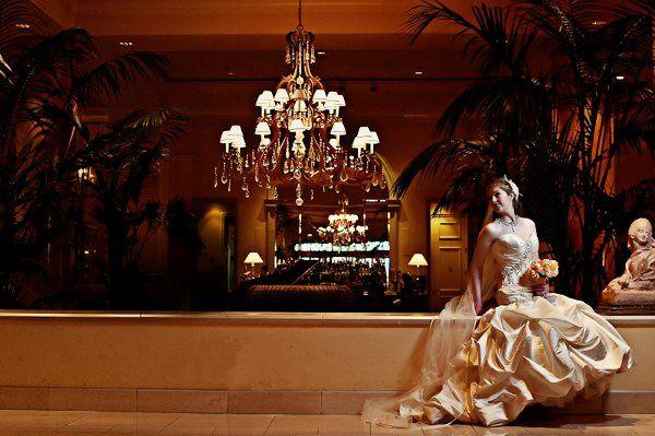 Princess-like bride