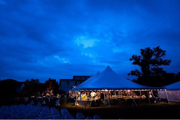 The venue at night | Photos provided by Jeremy Hess Photography
