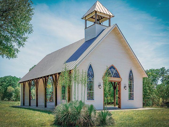 Tmx Chapel Exterior Angle 51 1053825 1563071194 Fredericksburg, TX wedding venue
