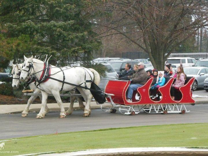 Tmx 1430799189019 Horsedrawnsleigh181 Wellsville, OH wedding transportation