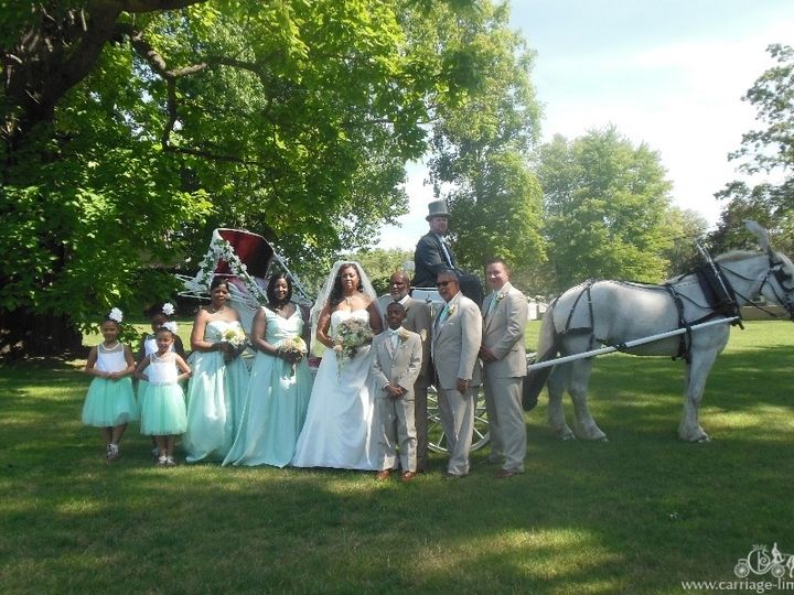 Tmx 1477284467317 Victoriancarriage054 Wellsville, Ohio wedding transportation