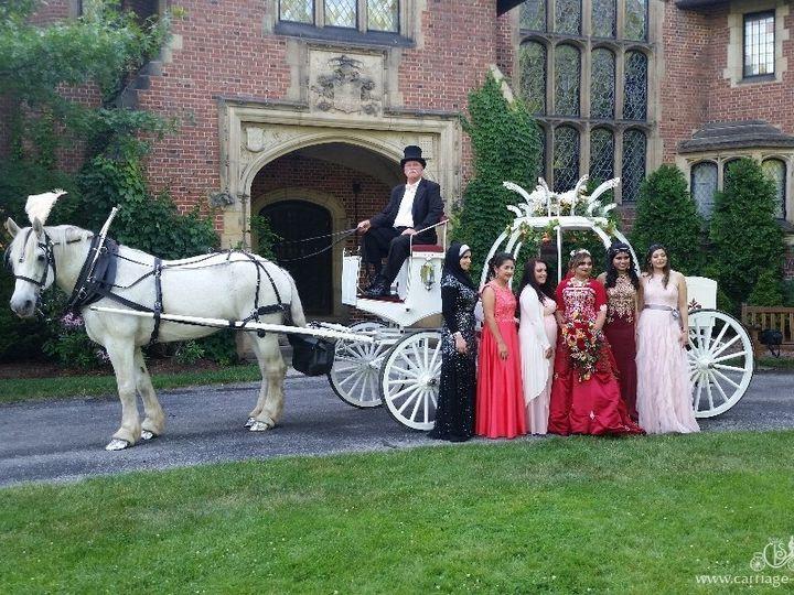 Tmx Cinderella Carriage 095 51 63825 Wellsville, OH wedding transportation