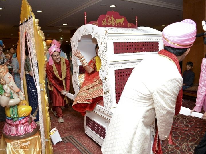 Tmx Indian Wedding Doli 014 51 63825 Wellsville, OH wedding transportation